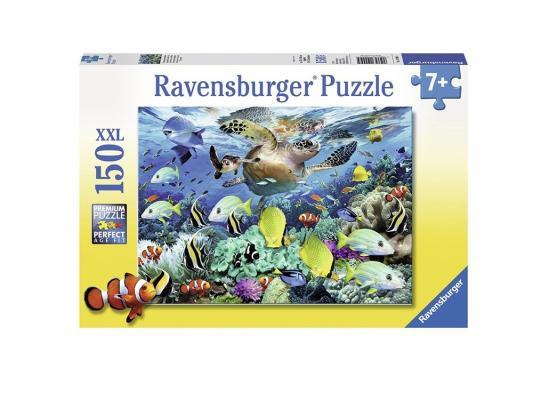 Пазл Ravensburger Пазл Ravensburger Коралловый риф 150 элементов 150 элементов ravensburger принцессы на прогулке пазл 15 элементов