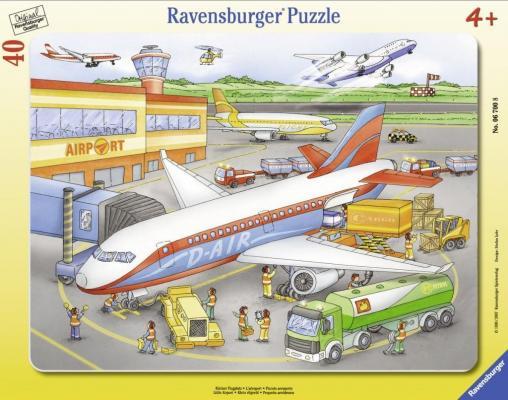 Пазл Ravensburger Маленький аэропорт 40 элементов 06700 цена 2017