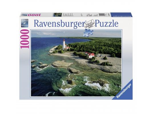 Пазл Ravensburger Маяк на полуострове Брус 1000 элементов пазл ravensburger озеро эйб 1000 элементов