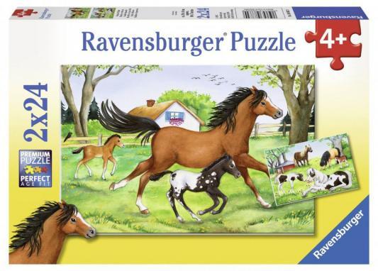 Пазл Ravensburger Мир лошадей 48 элементов пазл ravensburger сейшелы 1500 элементов