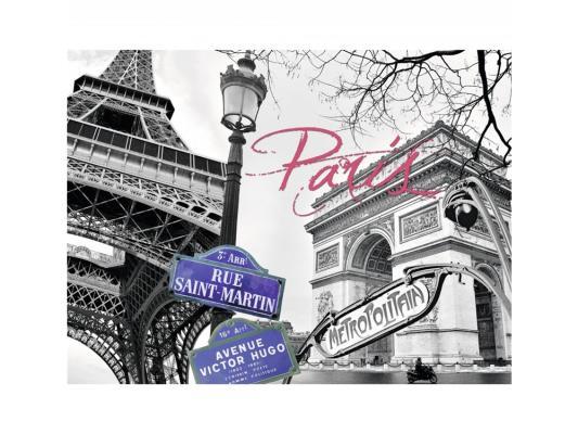 Пазл Ravensburger Мой Париж 1500 элементов ravensburger пазл черно белый париж