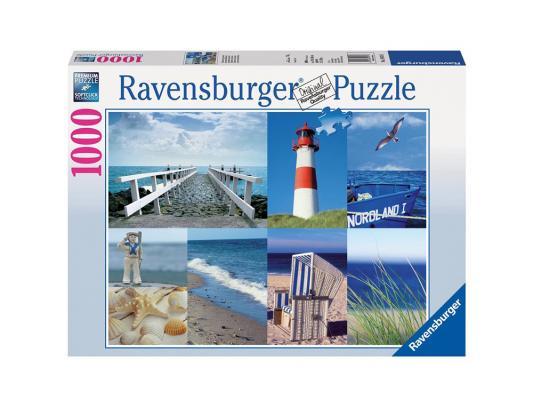 Пазл Ravensburger Пазл Ravensburger Морской пейзаж 1000 элементов пазл ravensburger сейшелы 1500 элементов