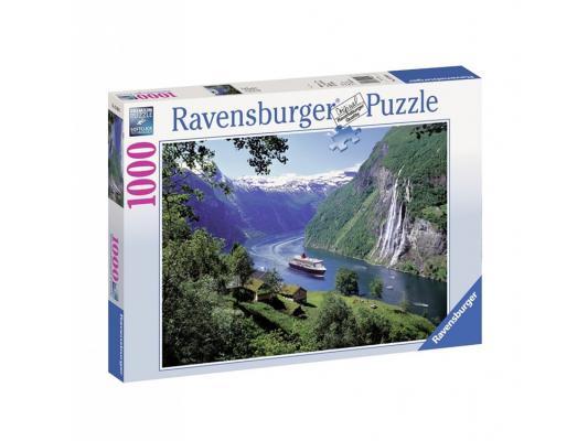 Пазл Ravensburger Норвежский фьорд 1000 элементов пазл 200 элементов ravensburger мой первый питомец 12810