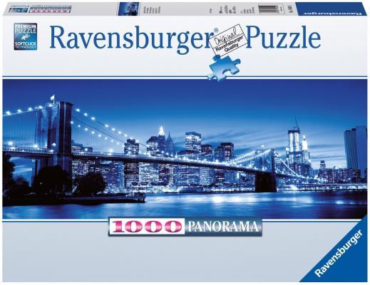 Пазл Ravensburger Ночь в Нью-Йорке 1000 элементов 15050 пазл 73 5 x 48 8 1000 элементов printio осенний пейзаж константин коровин