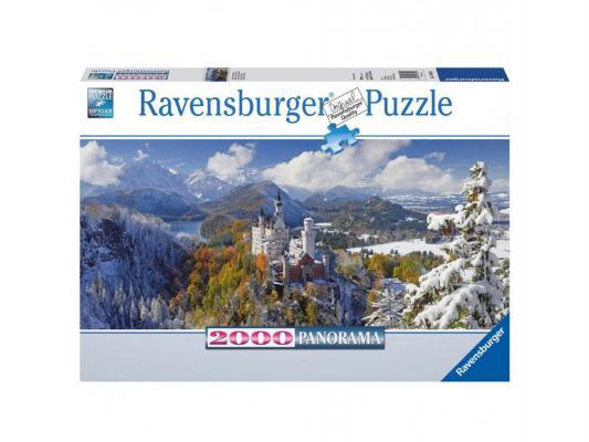 Пазл Ravensburger панорамный Нойшванштайн 2000 элементов
