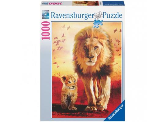 Пазл Ravensburger Первые шаги 1000 элементов 19051 пазл ravensburger озеро эйб 1000 элементов