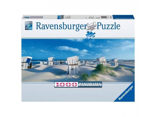 Пазл Ravensburger Пляжные корзинки на Зюлте 1000 элементов пазл ravensburger сейшелы 1500 элементов