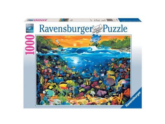 Пазл Ravensburger Пазл Ravensburger Подводный мир 1000 элементов пазл ravensburger ravensburger пазл 1000 элементов лондон в картинках