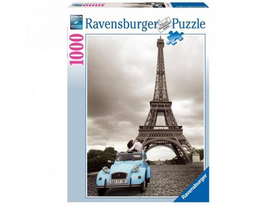 Пазл Ravensburger Пазл Ravensburger Романтика в Париже 1000 элементов 1000 элементов