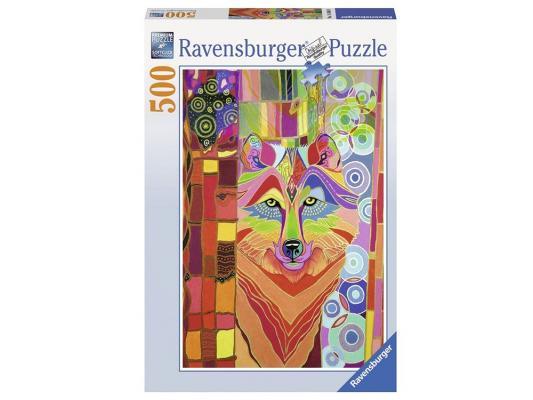 Пазл Ravensburger Сказочный волк 500 элементов пазл ravensburger пазл ravensburger три лошади 500 элементов 145669 500 элементов