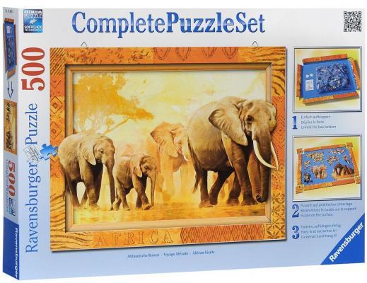 Пазл Ravensburger Слоны 500 элементов