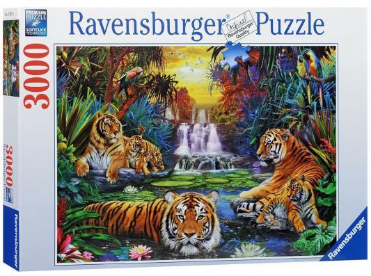 Пазл Ravensburger Тигры у воды 3000 элементов