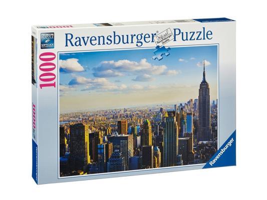 Пазл Ravensburger Утро на Манхэттене 1000 элементов пазл ravensburger утро на манхэттене 1000 элементов
