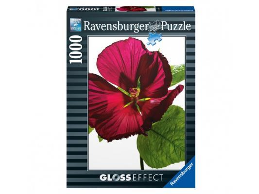 Пазл Ravensburger Пазл Ravensburger Цветок гибискуса 1000 элементов пазл ravensburger сейшелы 1500 элементов