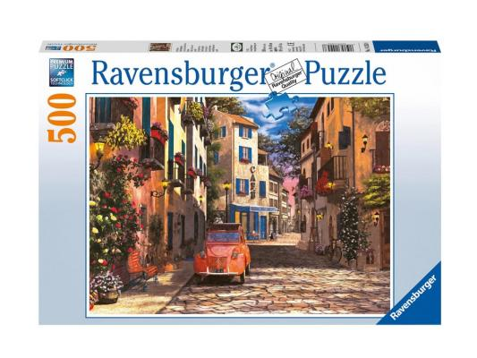 Пазл Ravensburger Юг Франции 500 элементов пазл ravensburger пазл ravensburger три лошади 500 элементов 145669 500 элементов