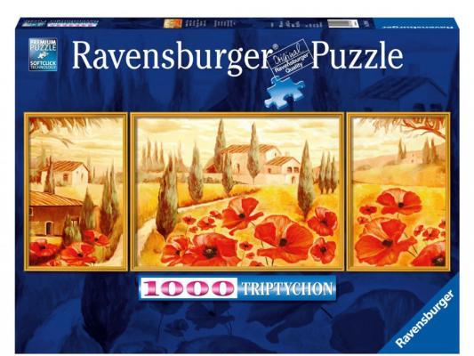 пазлы ravensburger пазл триптих маки тосканы 1000 шт Пазл 3D Ravensburger Маки Тосканы 1000 элементов