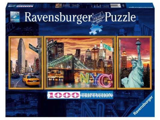 Пазл Ravensburger Ослепительный Нью-Йорк 1000 элементов пазл ravensburger сейшелы 1500 элементов