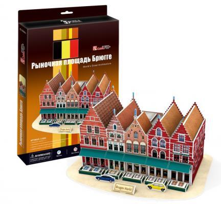 Пазл 3D CubicFun Рыночная площадь Брюгге (Бельгия) 45 элемента C182H