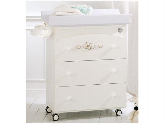 Купить Комод пеленальный с ванночкой Baby Expert Dormiglione (белый/серебро)