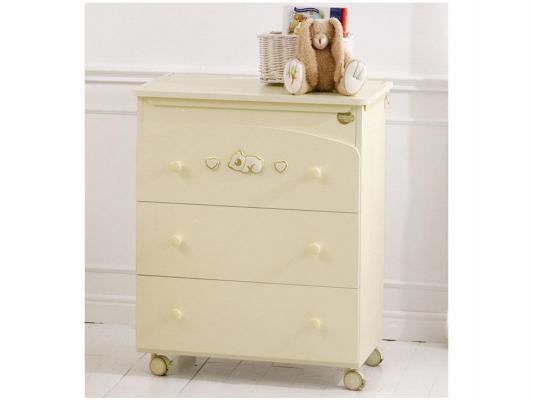 Купить Комод пеленальный с ванночкой Baby Expert Dormiglione (крем/золото)