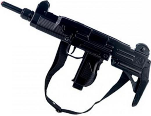 Пистолет-пулемет Gonher на 12 пистонов 134/6 черный