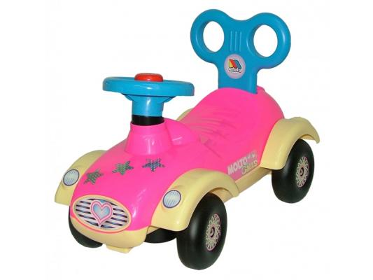 Каталка-машинка Molto Сабрина №2 розовый от 1 года пластик 9219 каталка машинка molto автомобиль каталка пикап красный от 1 года пластик
