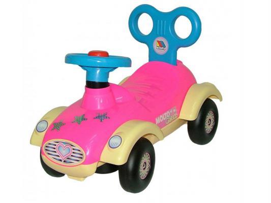 Каталка-машинка Полесье Сабрина розовый до 1 года пластик 7970 полесье полесье каталка mig скутер
