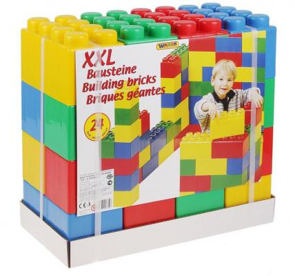Конструктор Полесье строительный XXL 24 элемента 37503