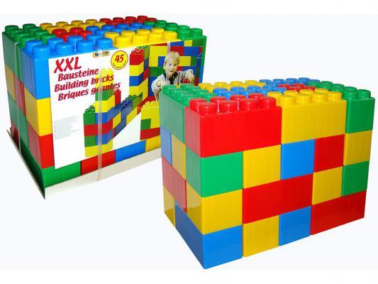 Конструктор Полесье строительный XXL 45 элементов 37510