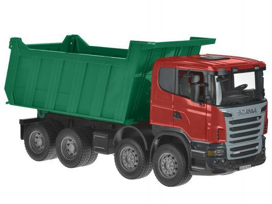 Самосвал Bruder Scania красный 1 шт 54 см 03-550