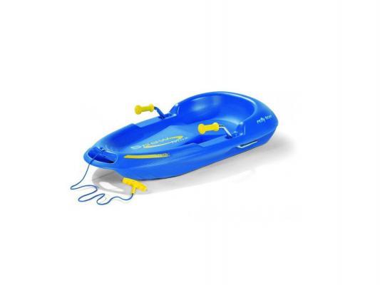 Санки Rolly Toys Snow Max Blue до 100 кг синий пластик 200283