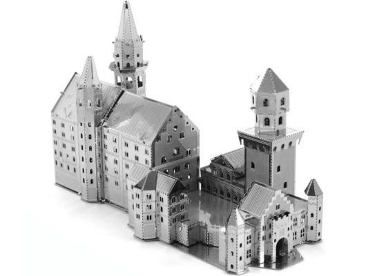 Замок Нойшванштайн Metalworks MMS018 серый