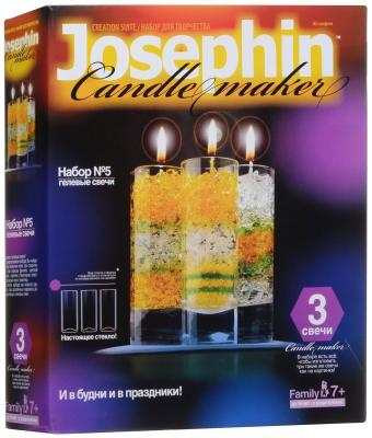 Набор для создания свечей Фантазер Гелевые свечи. Набор №5 от 7 лет 274005 набор для создания парафиновой свечи елочка фантазер