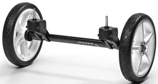 Система сменных колес Quad для коляски Hartan Racer GT (белый)