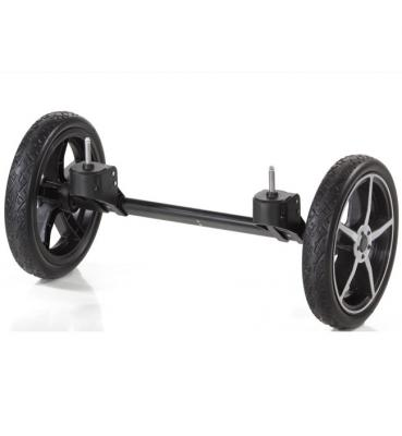 Система сменных колес Quad для коляски Hartan Topline S, Xperia (серебристый/платина)
