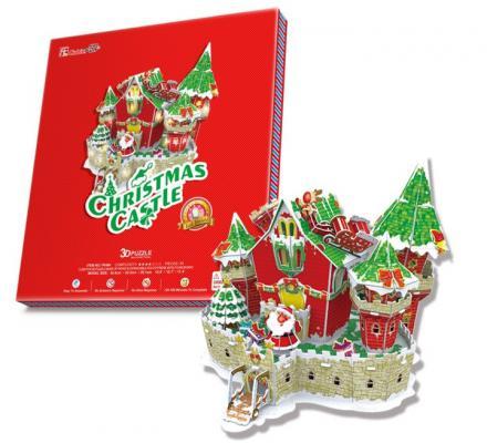 Пазл 3D CubicFun Сказочный рождественский замок 84 элемента P646H