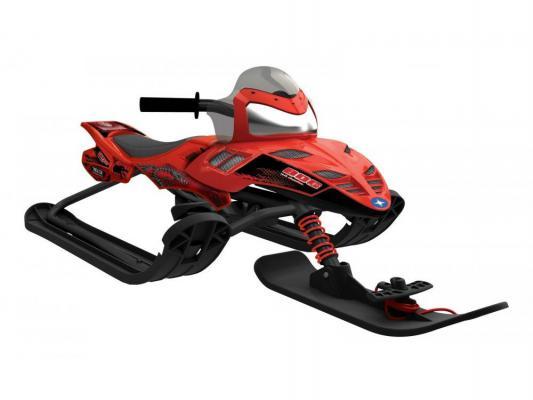 Снегокаты Snow Moto Polaris Dragon до 80 кг красный пластик металл 35082