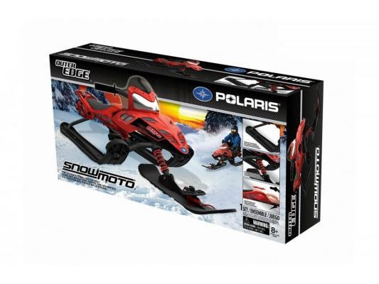 Снегокаты Snow Moto Polaris Dragon до 80 кг красный пластик металл 35082 от 123.ru