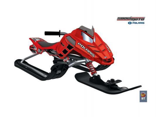 Снегокаты Snow Moto Polaris Rush до 80 кг красный металл пластик от 123.ru