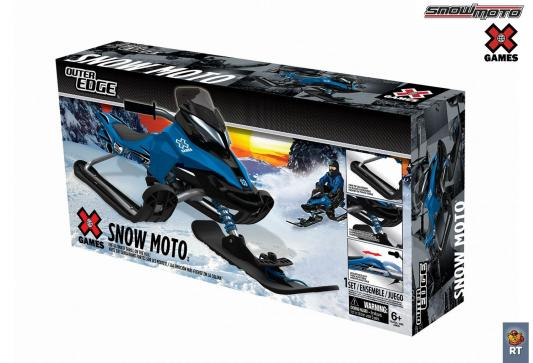 Снегокат Snow Moto X Games MXZ-X Blue до 80 кг синий металл 37012 RT от 123.ru