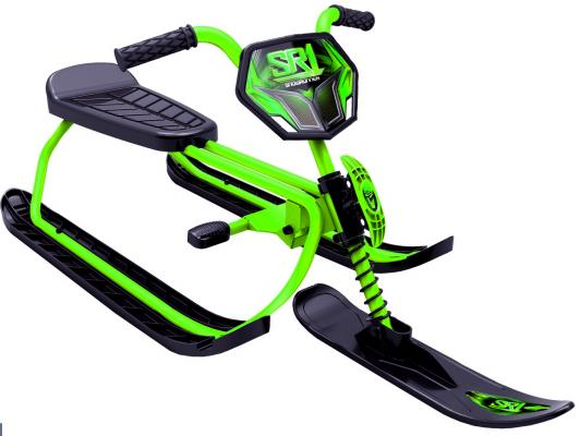 Снегокаты Snow Moto SnowRunner SR1 Kiwi до 60 кг зеленый металл