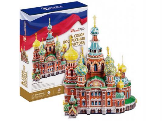 Пазл 3D CubicFun Собор Воскресения Христова (Россия) 233 элемента