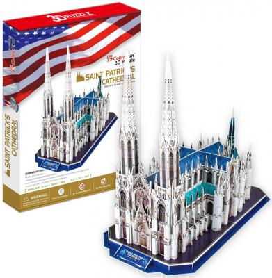 Пазл 3D CubicFun Собор Святого Патрика (США) 117 элементов