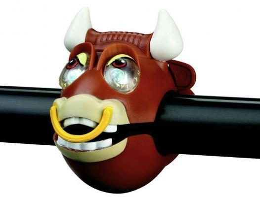 Фонарик RichToys Bull light с брелком-фонариком коричневый 320240