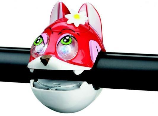 Фонарик RichToys CAT light с брелком-фонариком красный 320240
