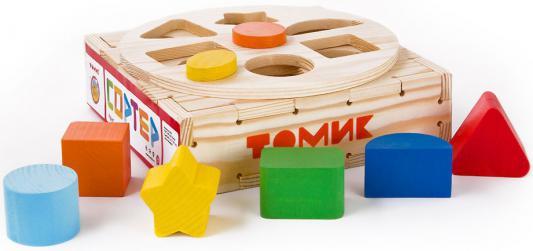 Купить Сортер Томик Круг 969, Развивающие игрушки из дерева