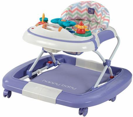 Ходунки-качалка 3-в-1 Happy Baby Robin (violet)