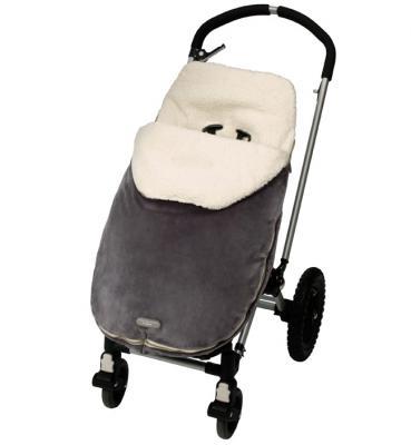 Спальный мешок JJ Cole в коляскуToddler Bundle Me серый полиэстер JBMOTG
