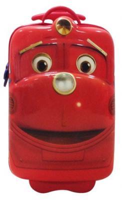Чемодан на колесах First Steps Чаггингтон 3D-рисунок 13 л красный 81341