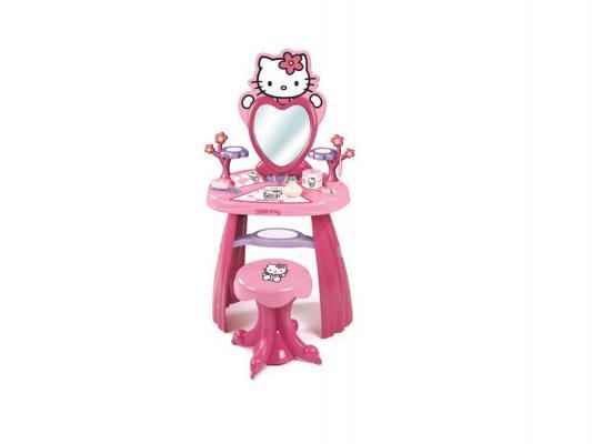 Игровой набор Smoby Студия красоты Hello Kitty со стульчиком от 3 лет 11 предметов 24644
